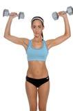 Freies Gewichtanheben Lizenzfreies Stockfoto