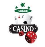 Freies Kasino-Konzept des Entwurfes Lizenzfreies Stockfoto