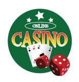 Freies Kasino-Konzept des Entwurfes Lizenzfreie Stockfotos