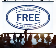 Freies Marken-Produkt-Konzept der Geschenk-hohen Qualität Stockfotos