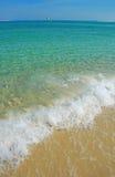 Freies Meer, glattes Segeln Stockbilder