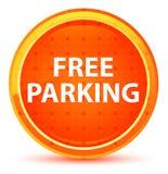 Freies Parknatürlicher orange runder Knopf lizenzfreie abbildung