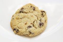Freies Schokoladensplitterplätzchen des Glutens Lizenzfreies Stockfoto