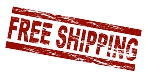 Freies Verschiffen lizenzfreie abbildung