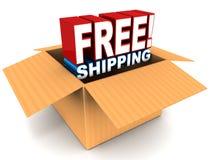 Freies Verschiffen Lizenzfreie Stockbilder