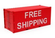 Freies Verschiffen Lizenzfreies Stockfoto