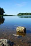 Freies Wasser am morton Vorratsbehälter Stockfoto