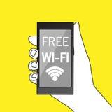 Freies Wi-Fizeichen Lizenzfreie Stockbilder