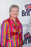 Freifrau Barbara Hay, das zu der 5. jährlichen BritWeek Produkteinführungs-Party kommt Lizenzfreie Stockbilder