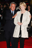 Dustin Hoffman, Freifrau Maggie Smith Lizenzfreie Stockfotos