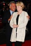 Dustin Hoffman, Freifrau Maggie Smith Lizenzfreie Stockbilder