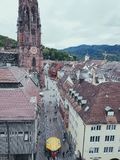 Freighbourg Tyskland royaltyfria foton