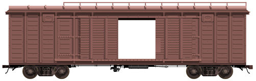 The freight-car Royalty Free Stock Photo