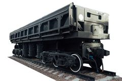 The freight car Stock Images