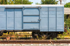 Freight and cargo train bogie Royalty Free Stock Photography
