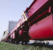Freight Cars Royalty Free Stock Photo