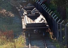 Freight cars Stock Image