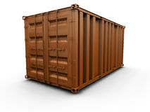 Freight container Stock Photography
