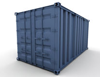 Freight container Stock Photo