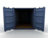 Freight container Stock Image