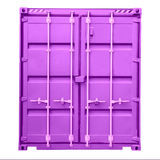 Freight container isolated on white background. Cargo Container, Transportation, Distribution Warehouse Royalty Free Stock Photos
