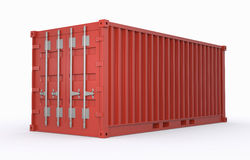 Freight container Royalty Free Stock Image