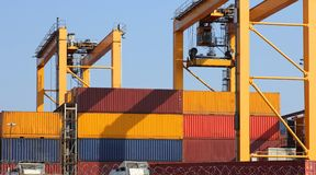 Freight container Royalty Free Stock Photo