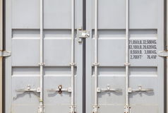 freight container shipping Royalty Free Stock Photo