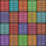 Freight Containers Stock Photos