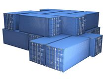 Freight containers Stock Photography
