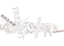 Freight Exchange Or Baked Beans Word Cloud Concept Stock Photo