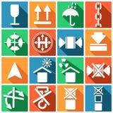 Freight icons Stock Photos