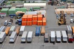 Freight loading Stock Photos