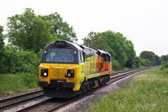Freight locomotive Stock Images