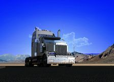 Freight machine Royalty Free Stock Photos