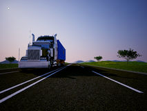 Freight machine Royalty Free Stock Photography