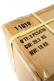 Freight parcel Royalty Free Stock Images