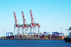 Freight port Royalty Free Stock Photos