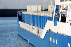 Freight ship Stock Image