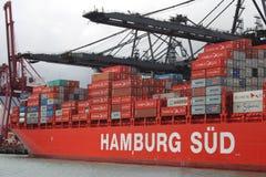 Freight Ship in Hong Kong Royalty Free Stock Photos
