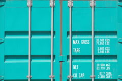 Freight shipping containers Stock Photography