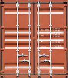 Freight shipping containers Royalty Free Stock Images