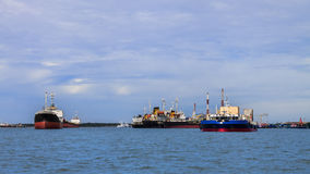 Freight Ships Royalty Free Stock Photo