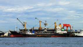 Freight Ships Royalty Free Stock Photos