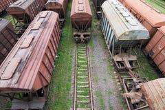 Freight Station Stock Photo