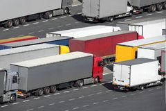 Freight traffic Stock Photo