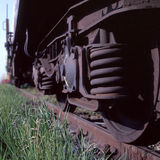 Freight Trail Royalty Free Stock Photography