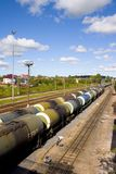 Freight train Stock Photo