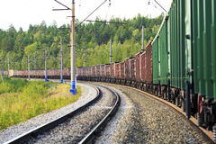 Free Freight Train Stock Photography - 20816712