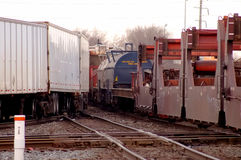 Freight Train Royalty Free Stock Photos